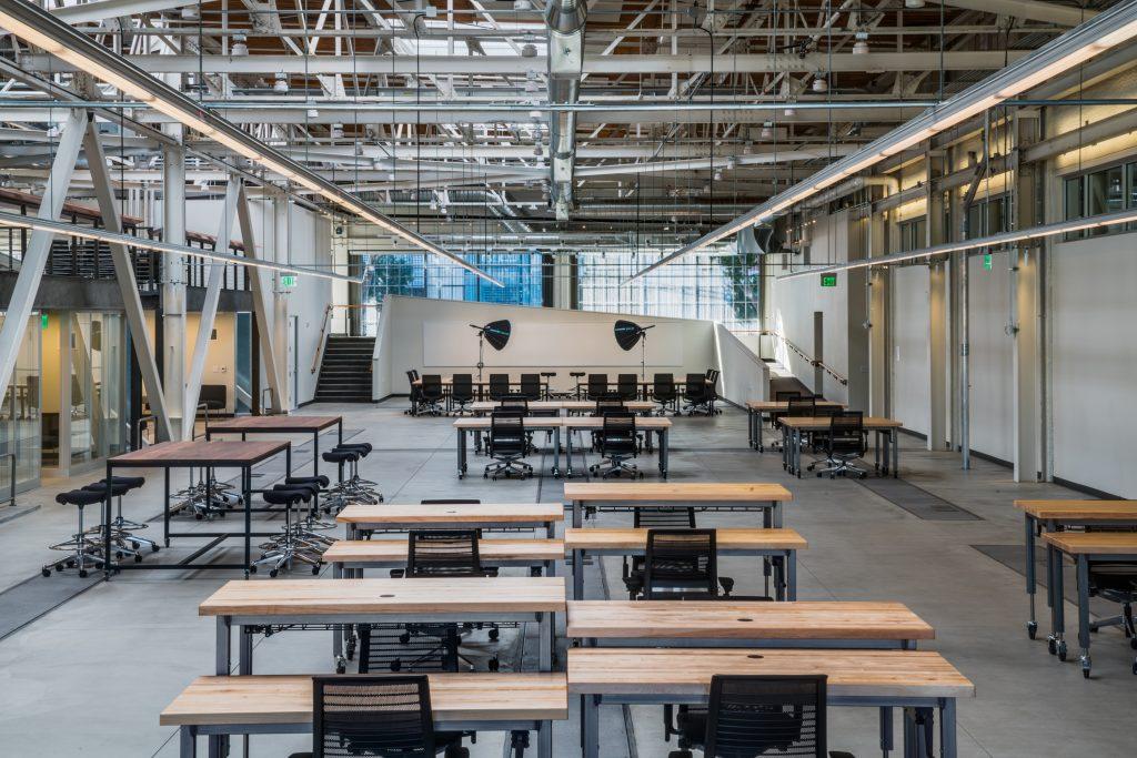 SanFranTechCo Flexible Workspace Looking West