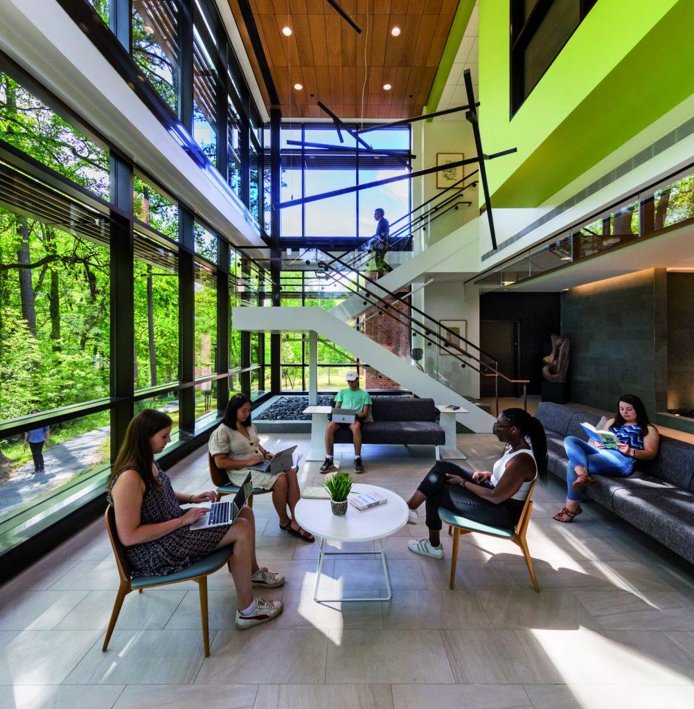 Interior of McLeod Tyler Wellness Center