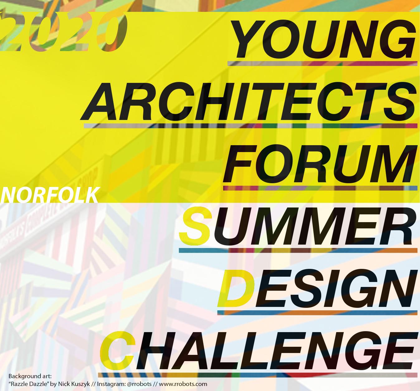 YAF Summer Design Challenge graphic