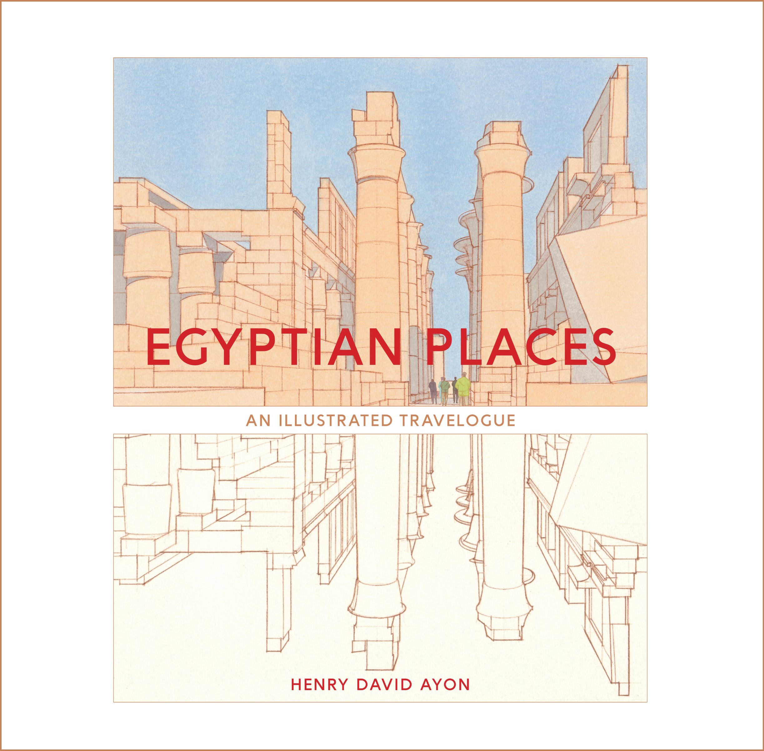 Egyptian Places book cover