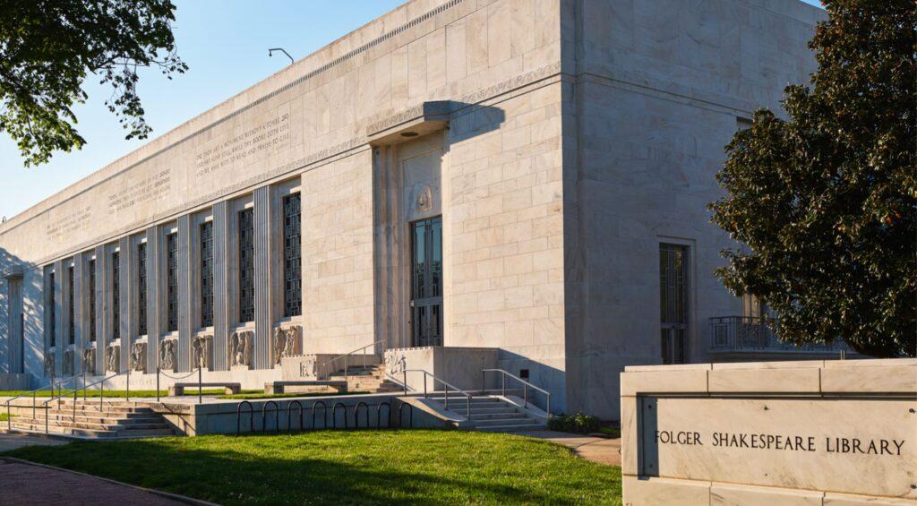 MTFA's Restoration of Folger Library Exterior Photo