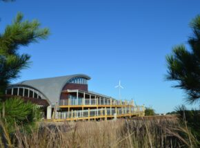 The Brock Environmental Center, designed by SmithGroupJJR