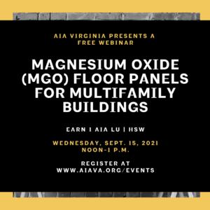 MGO Floor Panels webinar graphic